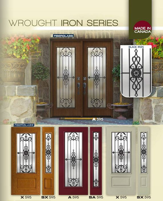 Wrought Iron Doors