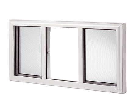 Single Slider Lift-Out Windows